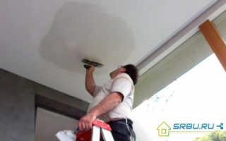 Как сделать стяжку на потолке из глины