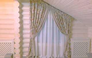 Пошив штор от киевской студии Arabesco